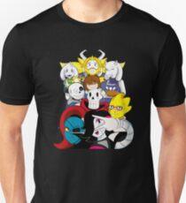 Undertale Jeder Slim Fit T-Shirt