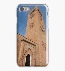 Koutoubia Minaret, Marrakech, Morocco iPhone Case/Skin