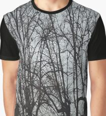 Tall Tree Rooftops Graphic T-Shirt
