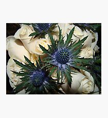 Scottish Bouquet Photographic Print