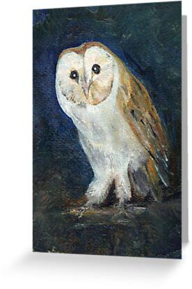 Barn Owl by Carol Rowland