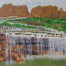 Flooded Canyon (Havasupai) by Heberto   G. Cavazoz