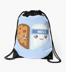 Milk & Cookie Drawstring Bag