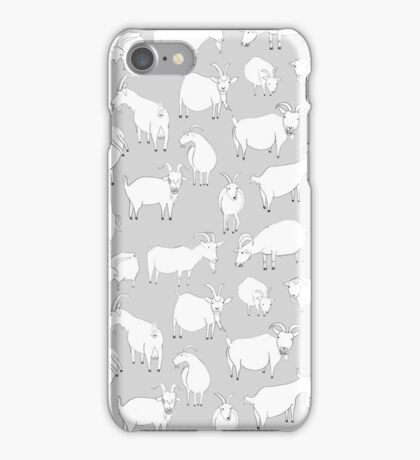 Charity Fundraiser - Grey  Goats iPhone Case/Skin