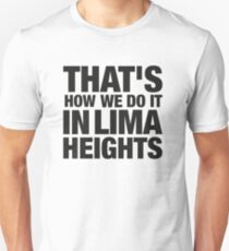 Lima Heights - Black Unisex T-Shirt