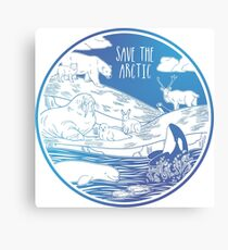 Save the Arctic! Canvas Print