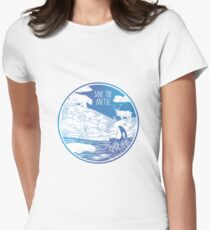 Save the Arctic! Women's Fitted T-Shirt