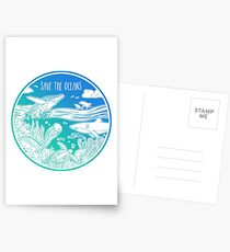 Save the Oceans! Postcards