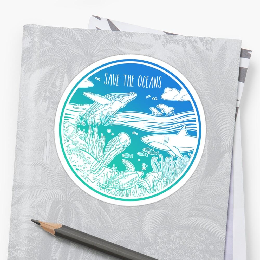 «¡Salva los océanos!» de Hannah Diaz