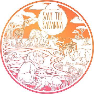¡Salva la sabana! de Chikagi