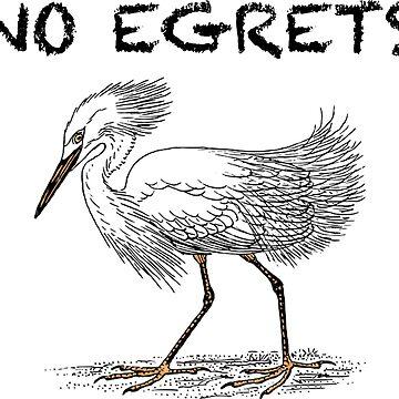 No Egrets by dinoglitter