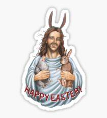 happy easter - jesus Sticker