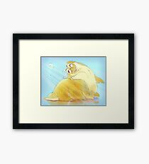Ham, Bubble and Squeak  Framed Print
