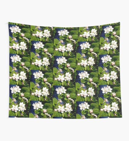 Apple Blossoms Wall Tapestry