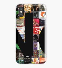 No (Album Covers background) iPhone Case/Skin
