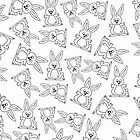 Bunny Pattern by imagology