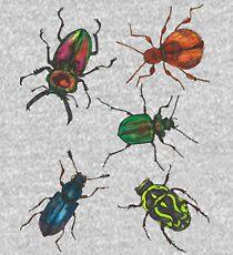 Australian Beetles Kids Pullover Hoodie