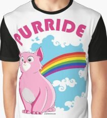 Gay Purrride Graphic T-Shirt