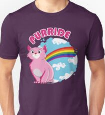 Gay Purrride Slim Fit T-Shirt