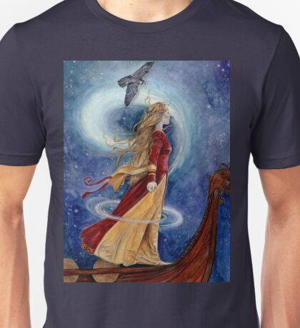 The Goddess Freyja - Shapeshifter Unisex T-Shirt