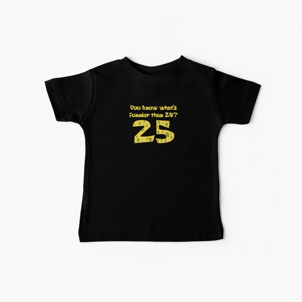 25 - Spongebob Baby T-Shirt
