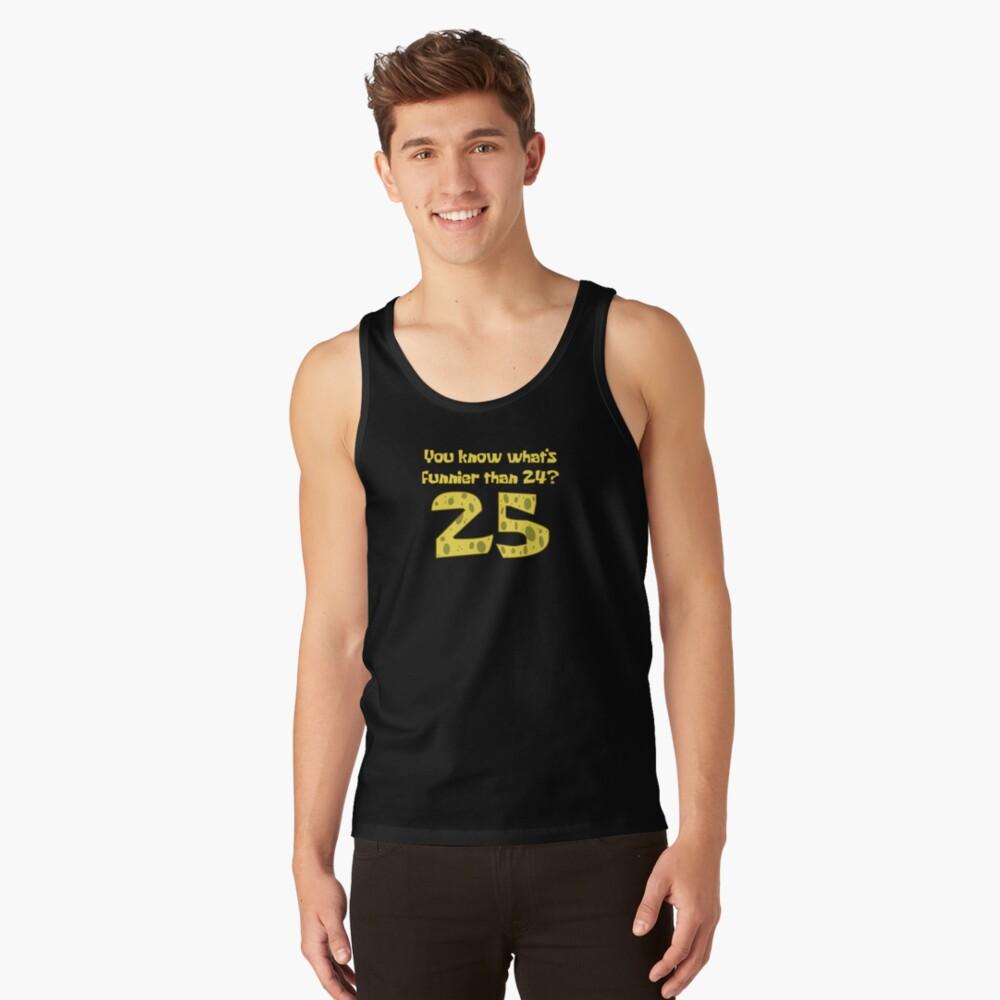 25 - Spongebob Tank Top