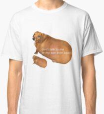 Sprich nie wieder mit mir oder meinem Sohn - Geek Classic T-Shirt
