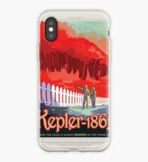 Weltraumtourismus der NASA - Kepler 186f iPhone-Hülle & Cover