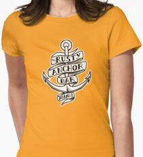 The Rusty Anchor Bar Women's Fitted T-Shirt