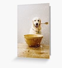 Cooking with Chester Greeting Card