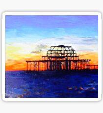 West Pier Brighton Sticker
