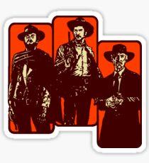 Il buono, il brutto, il cattivo Sticker