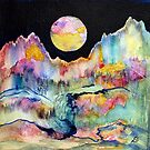 World Series C-1 Night Moon by ksgfineart