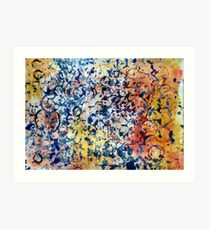 Abstract composition 272 Art Print