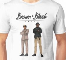 Brown + Black Unity Unisex T-Shirt