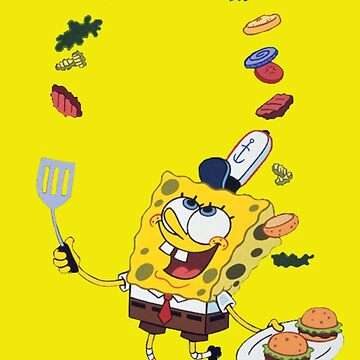 Spongebob and Krabby Patties by Grytsevytch