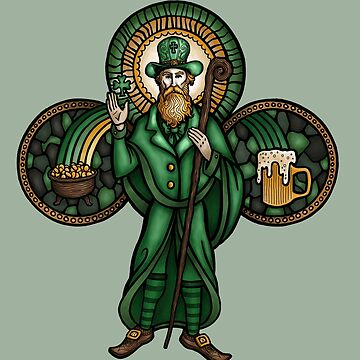 Saint Patrick the Leprechaun by pjbrick7