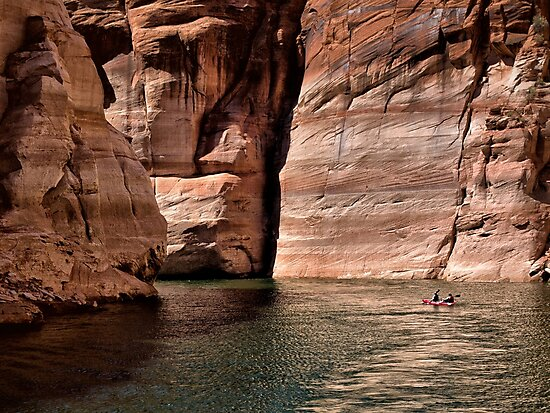 Paddling the Canyon by Kathy Weaver