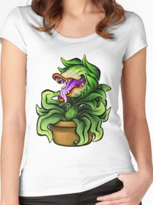 Feed Me, Seymour! Women's Fitted Scoop T-Shirt