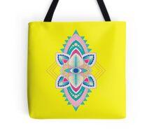 Tribal Eye Motif Tote Bag