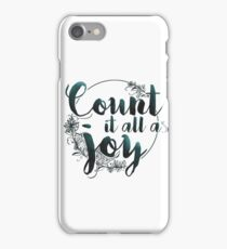 James 1:2 iPhone Case/Skin