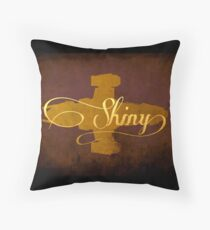 Shiny Serenity Firefly Art Throw Pillow