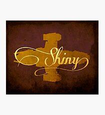 Shiny Serenity Firefly Art Photographic Print