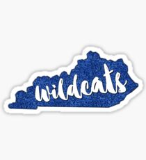 Kentucky Wildcats! Sticker