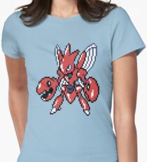 Scizor Retro Womens Fitted T-Shirt