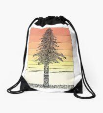 Küsten Redwood Sunset Sketch Turnbeutel