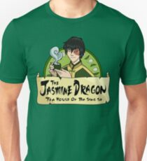 Camiseta unisex The Jasmine Dragon Tea House - Con el Príncipe Zuko
