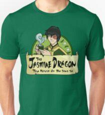 The Jasmine Dragon Tea House - With Prince Zuko Slim Fit T-Shirt