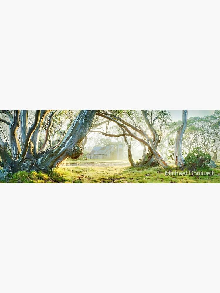Foggy Wallace Hut, Falls Creek, Victoria, Australia by Chockstone