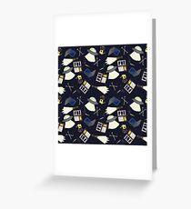 x-files print Greeting Card